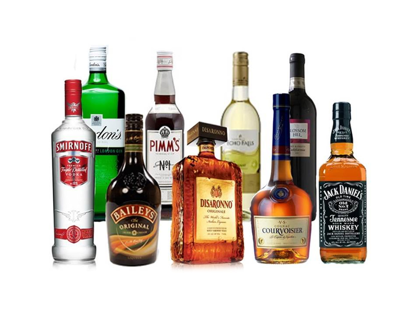 AMARO, GRAPPE, WHISKY