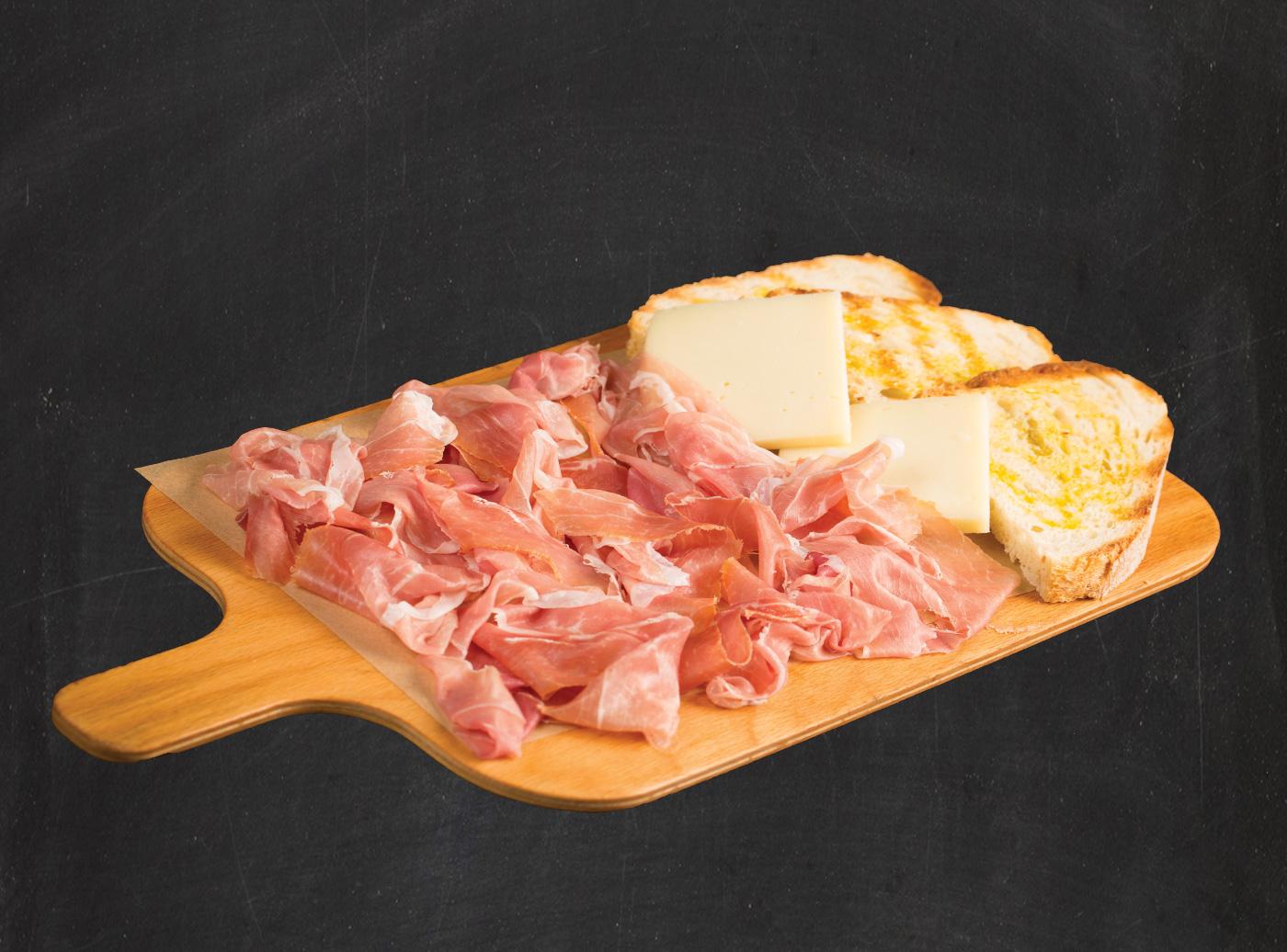 Tagliere Parma Rovagnati e Pecorino Teramano