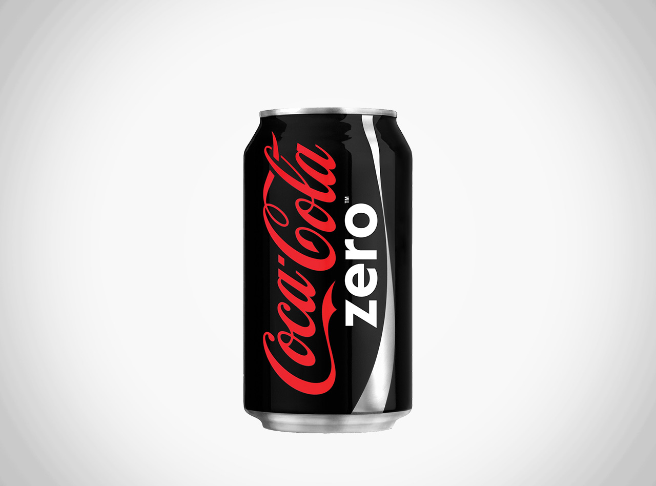 COCA COLA ZERO IN LATTINA
