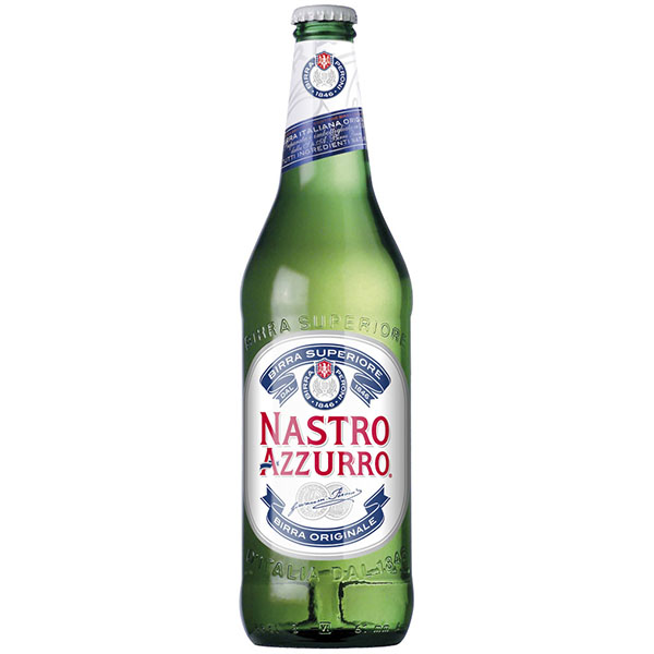 Birra Nastro Azzurro 0.66lt